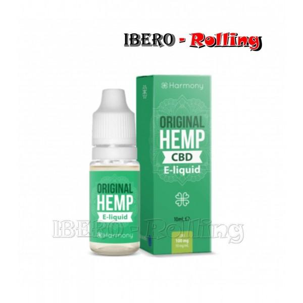 liquido harmony original hemp 100mg