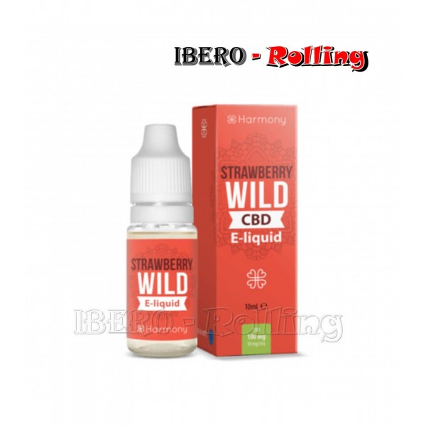liquido harmony wild strawberry 30mg