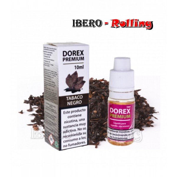 liquido dorex tabaco negro 3 mg