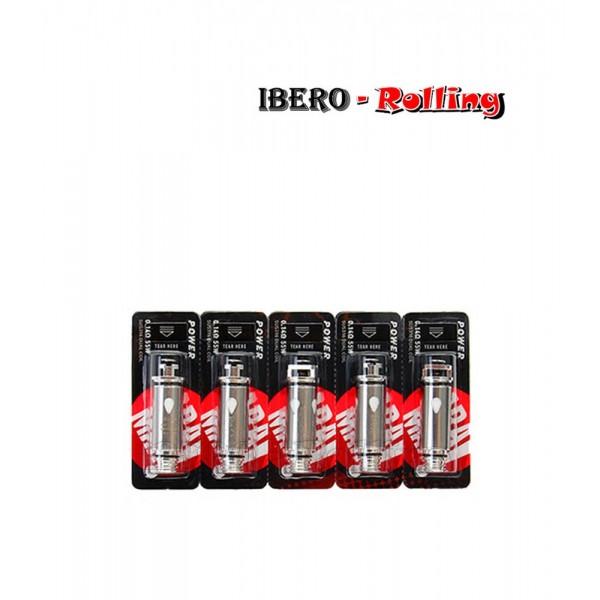 resistencia aramax power coil