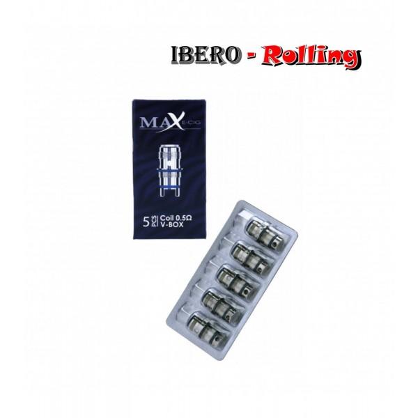 resistencia max coil v-box