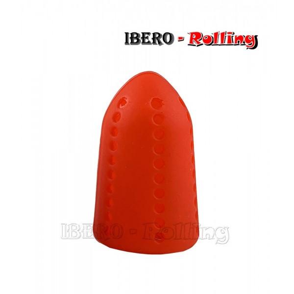 silenciador burbujas shisha rojo