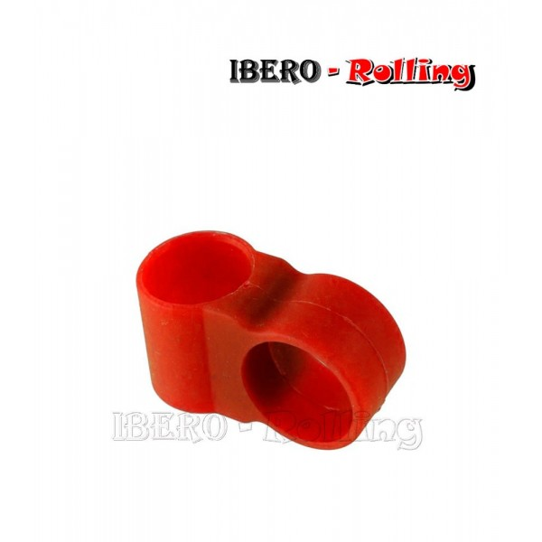 anillo manguera shisha targard rojo