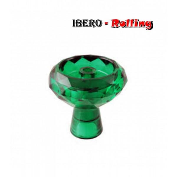 cazoleta tg cristal verde