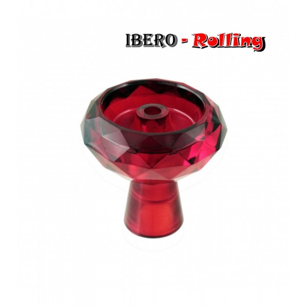 cazoleta tg cristal roja