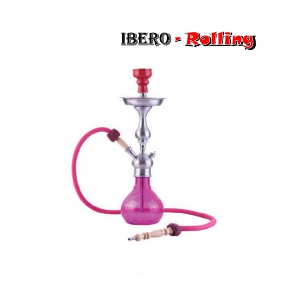 shisha aladin barcelona rosa 52 cm