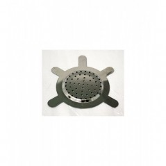 quemador targard metal - caja 25 uni