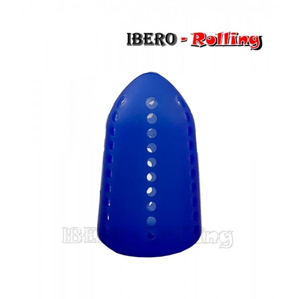 silenciador burbujas shisha azul