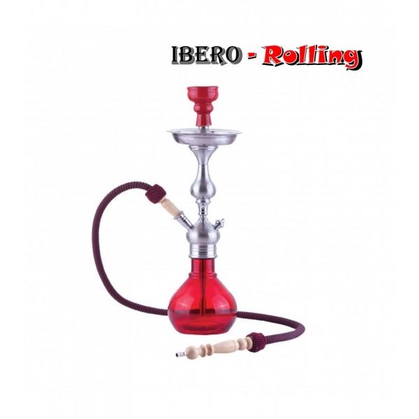 shisha aladin barcelona roja 52 cm