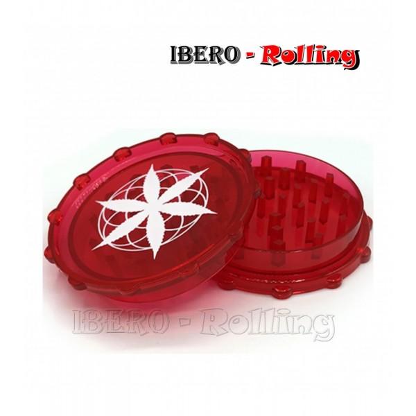grinder hoja blanca rojo 75mm 2 partes