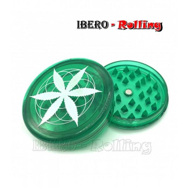 grinder hoja verde 60mm 3 partes