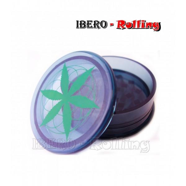 grinder hoja verde negro 60mm 3 partes