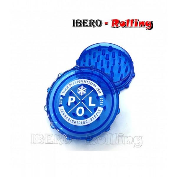 grinder pol azul 60mm 3 partes