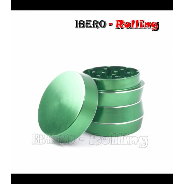 grinder kañamero metal diábolo verde 40mm 4 partes