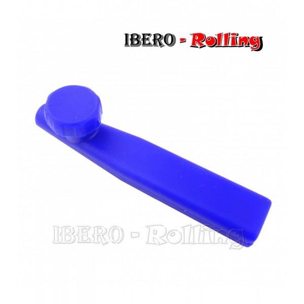 pipa silicona básica azul