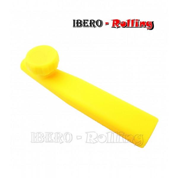 pipa silicona básica amarilla