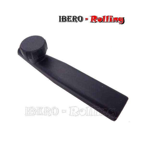 pipa silicona básica negra