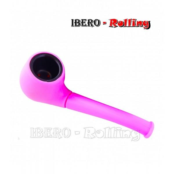 pipa silicona rosa