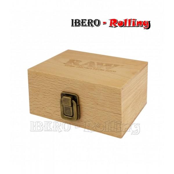 caja raw madera ocultacion