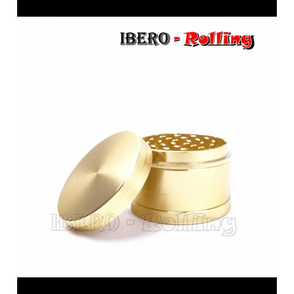 grinder tg metal dorado 62mm 4 partes