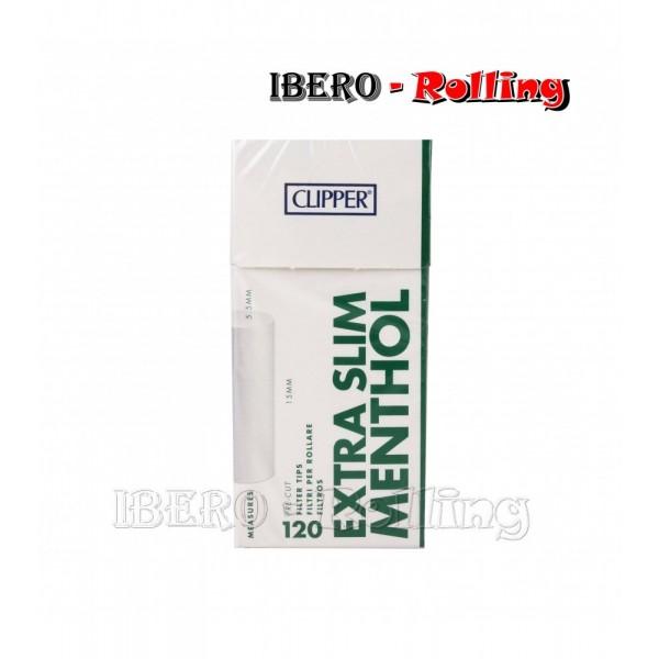 filtros clipper menthol 5