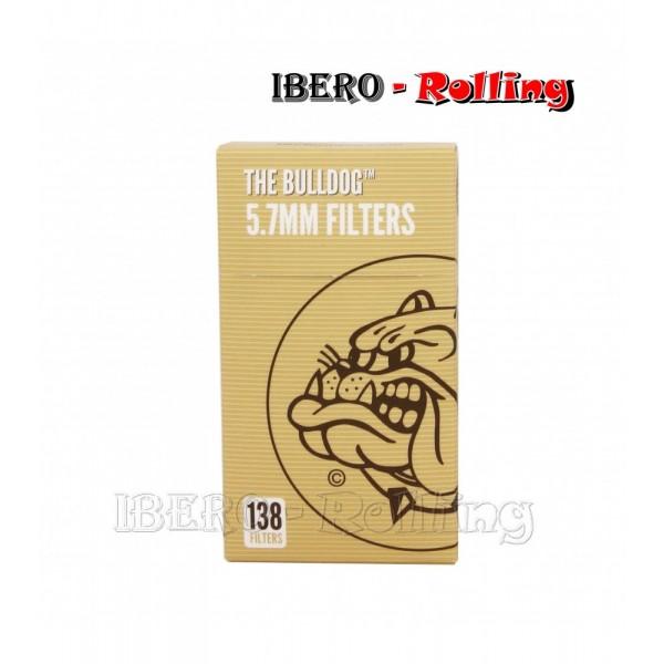 filtros bulldog eco 5.7mm 138 filtros