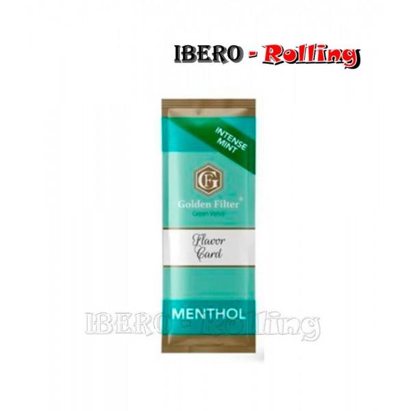 tarjeta golden filter menthol intense