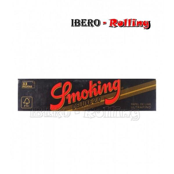 papel smoking negro largo 33 110mm
