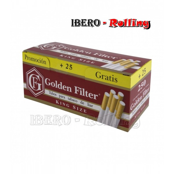 tubos golden filter 275 tubos