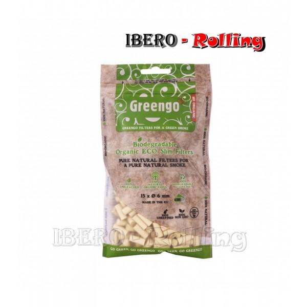 filtros greengo 6mm bolsa 200