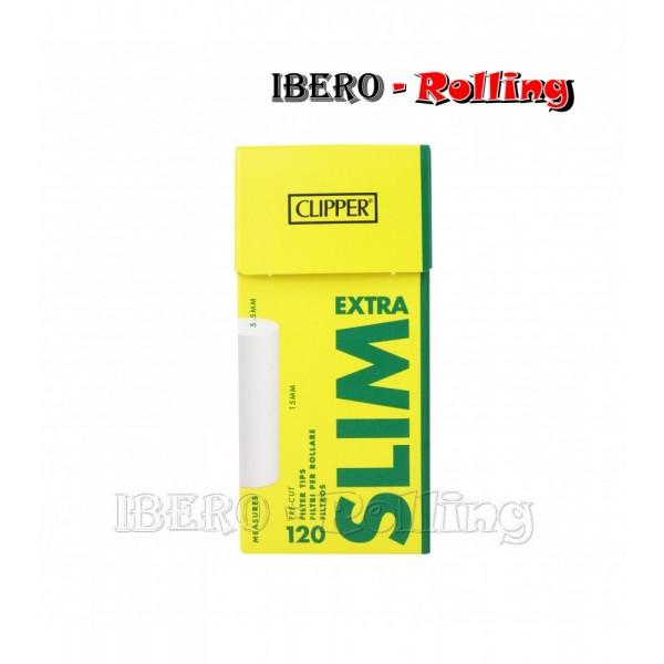 filtros clipper 5.5mm 120 filtros