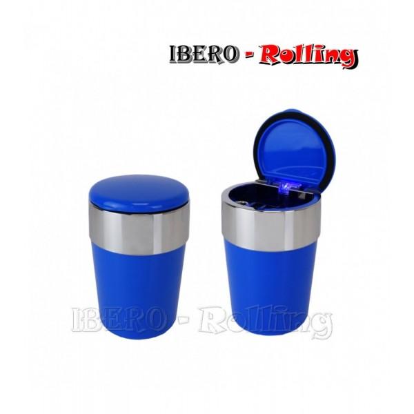 cenicero coche azul 65mm