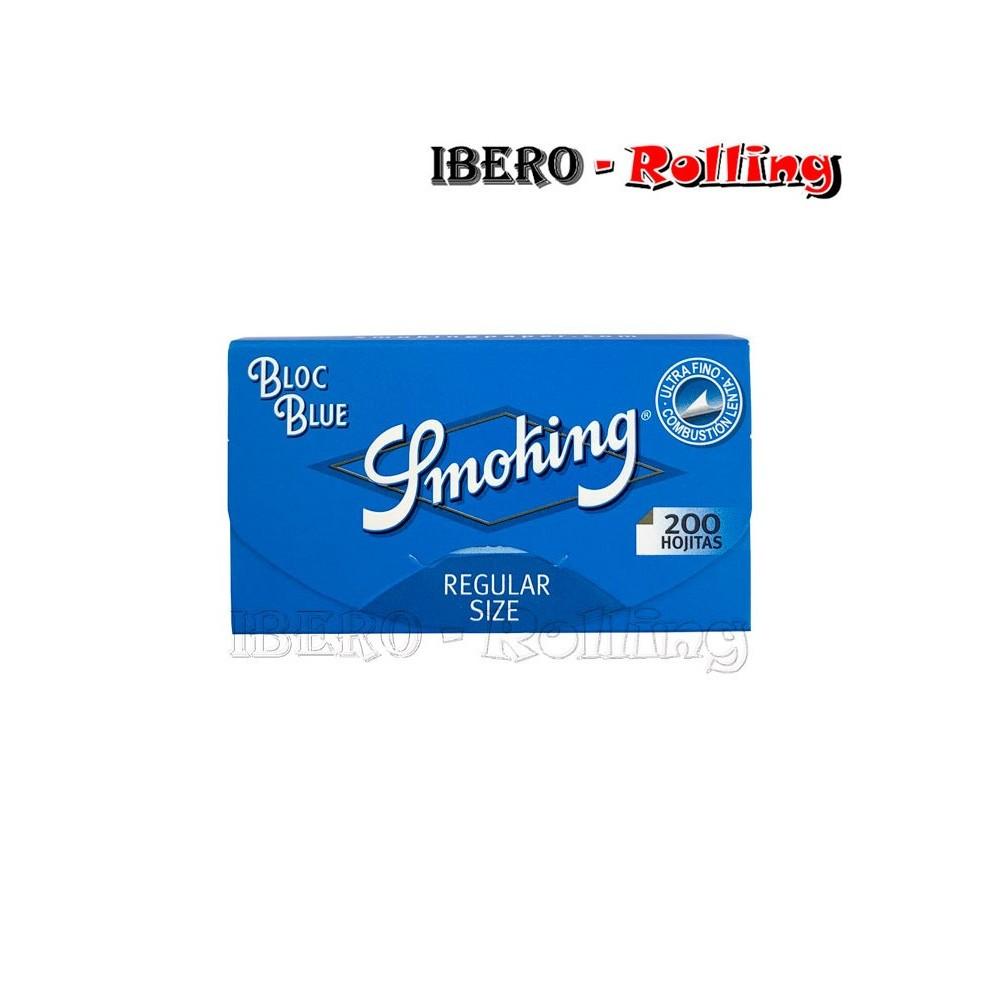 papel smoking azul 200