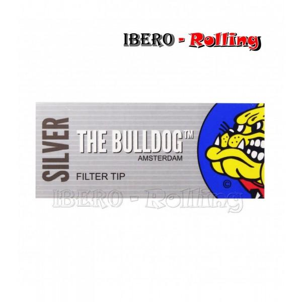 filtros bulldog carton gris 33 filtros