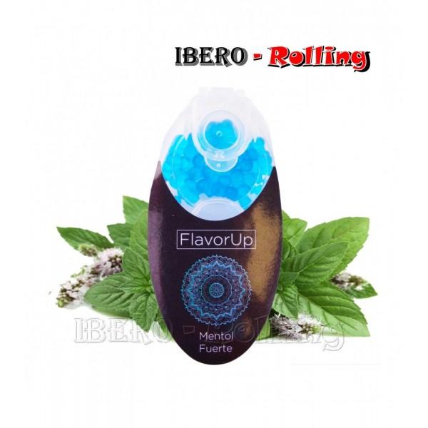 cápsulas flavor up menta azul-mentol